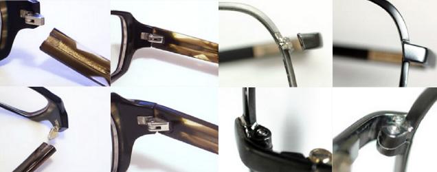 ほとんどのメガネは修理ができます